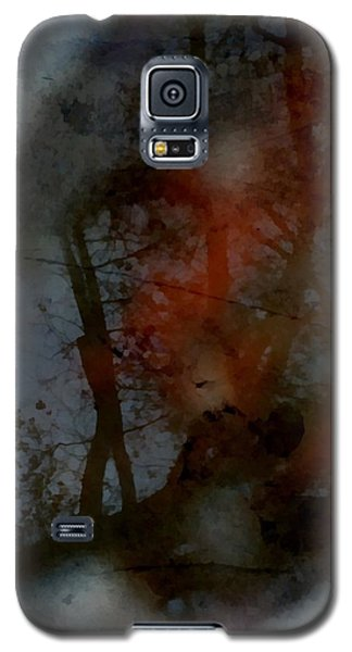 Galaxy S5 Case featuring the photograph Autumn Abstract by Photographic Arts And Design Studio