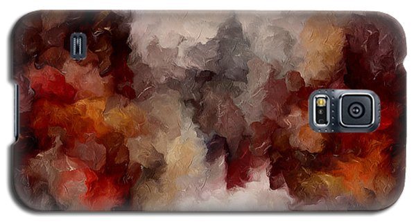 Autumn Abstract Galaxy S5 Case
