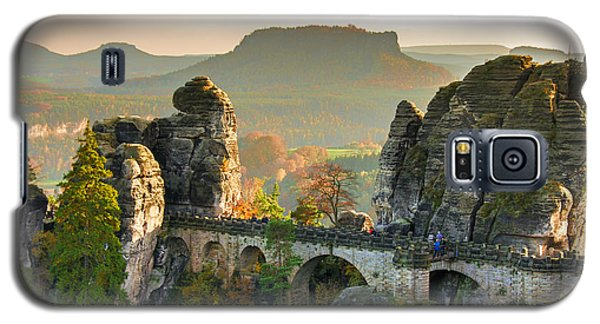 Autumn Afternoon On The Bastei Bridge Galaxy S5 Case