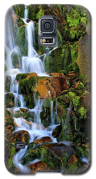 Autumn Along Summit Creek Galaxy S5 Case