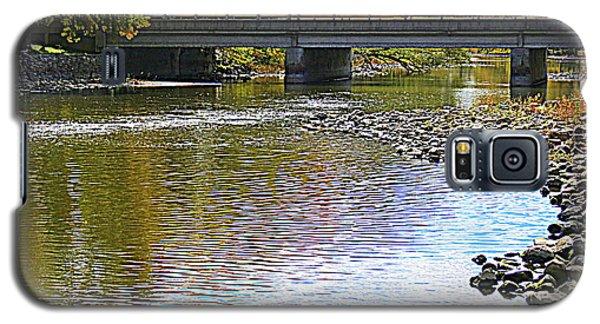Autumn Along The Fox River Galaxy S5 Case