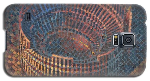 Galaxy S5 Case featuring the painting Autumn Amphitheatre by Mark Howard Jones