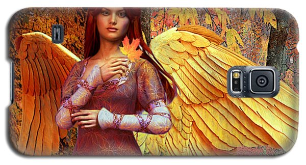 Autumn Angel 2 Galaxy S5 Case by Suzanne Silvir