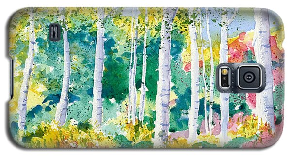 Autumn Aspen Galaxy S5 Case