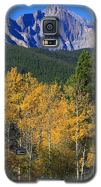 Autumn Aspens And Longs Peak Galaxy S5 Case