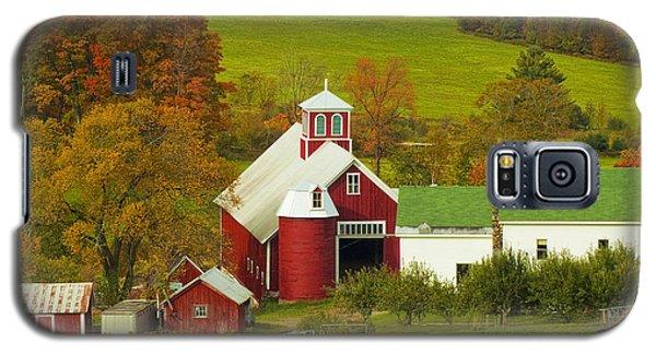 Autumn At Bogie Mountain Dairy Farm Galaxy S5 Case