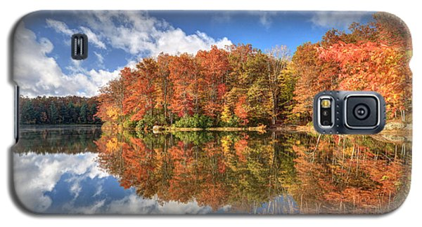 Autumn At Boley Lake Galaxy S5 Case