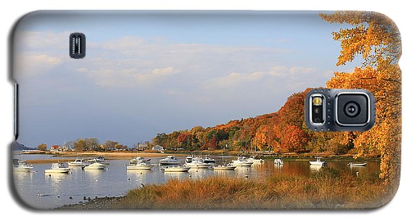 Autumn At Cold Spring Harbor Galaxy S5 Case
