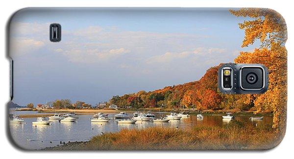 Autumn At Cold Spring Harbor Galaxy S5 Case by Dora Sofia Caputo Photographic Art and Design