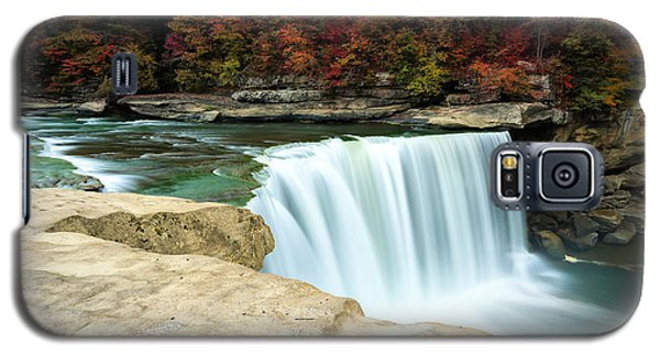 Autumn At Cumberland Falls Galaxy S5 Case by Jaki Miller