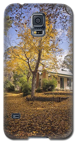 Galaxy S5 Case featuring the photograph Autumn At Daylesford by Kim Andelkovic