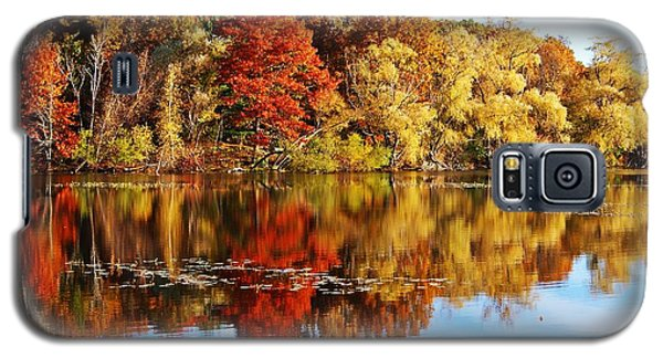 Autumn At Horn Pond Galaxy S5 Case