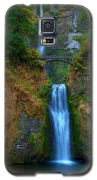 Autumn At Multnomah Falls Galaxy S5 Case
