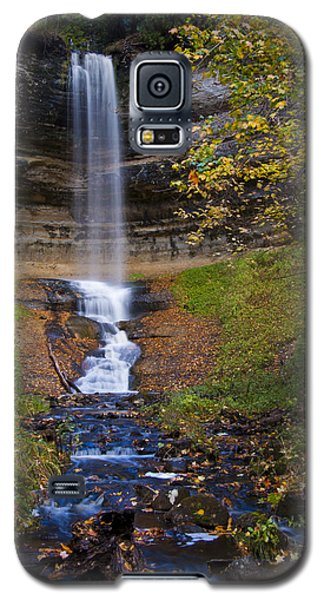 Autumn At Munising Falls Galaxy S5 Case