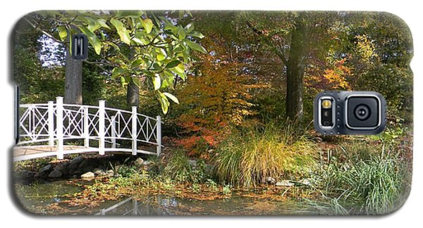 Autumn At Sayen Gardens Galaxy S5 Case by Nance Larson