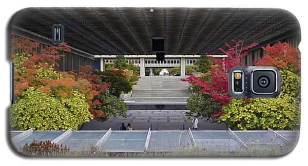 Galaxy S5 Case featuring the photograph Autumn At Simon Fraser U. by Maria Janicki