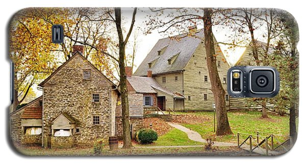 Autumn At The Cloister Galaxy S5 Case by Jean Goodwin Brooks