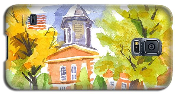 Autumn At The Courthouse Galaxy S5 Case