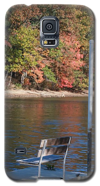 Autumn At The Lakeview Camp Galaxy S5 Case