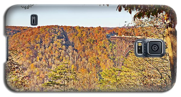 Autumn At The New River Gorge Single-span Arch Bridge Galaxy S5 Case