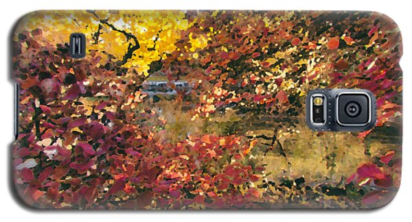 Autumn At The Park Galaxy S5 Case