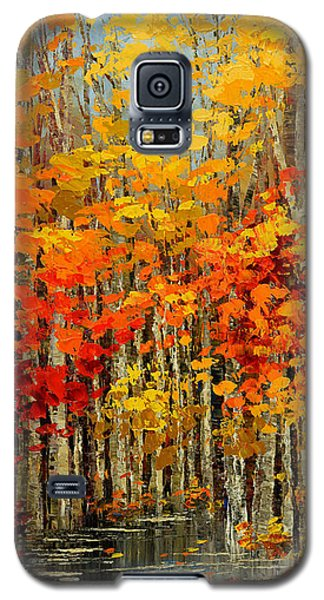 Autumn Banners Galaxy S5 Case
