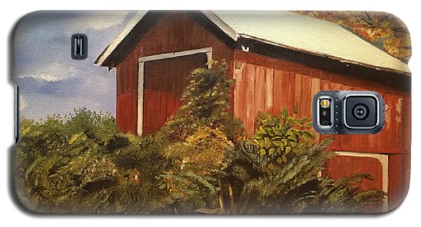 Autumn - Barn - Ohio Galaxy S5 Case