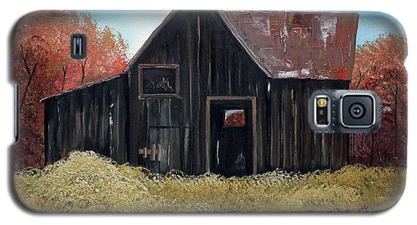 Autumn - Barn -orange Galaxy S5 Case