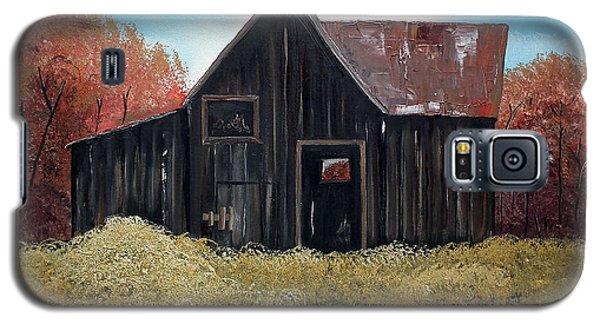 Autumn - Barn -orange Galaxy S5 Case by Jan Dappen