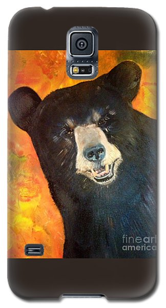 Autumn Bear Galaxy S5 Case