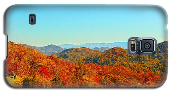 Autumn Blue Ridge Galaxy S5 Case