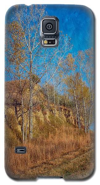 Autumn Bluff Painted Galaxy S5 Case