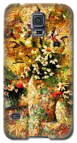 Autumn Bounty - Abstract Expressionism Galaxy S5 Case