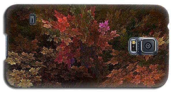 Galaxy S5 Case featuring the digital art Autumn Bouquet by Olga Hamilton