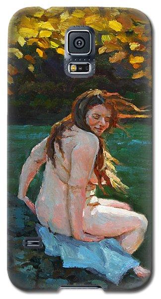 Autumn Breeze Galaxy S5 Case