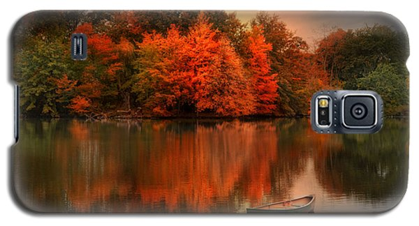 Autumn Canoe Galaxy S5 Case