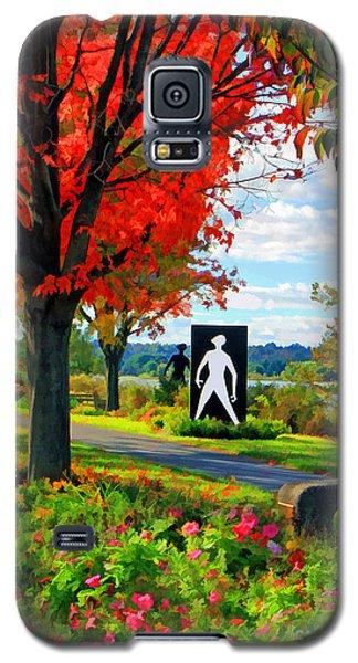 Autumn Canvas Galaxy S5 Case