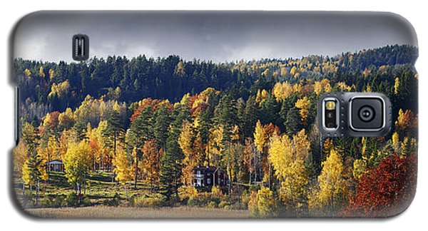 Autumn Colored Nature And Landscape Galaxy S5 Case