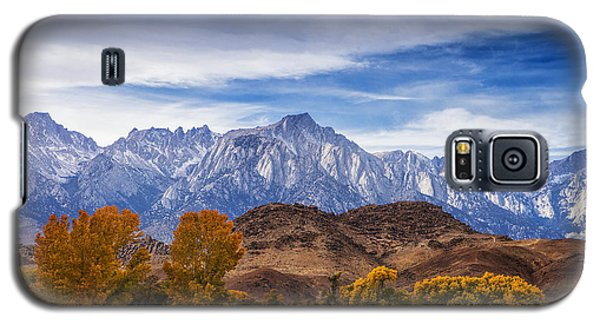 Autumn Colors And Mount Whitney Galaxy S5 Case