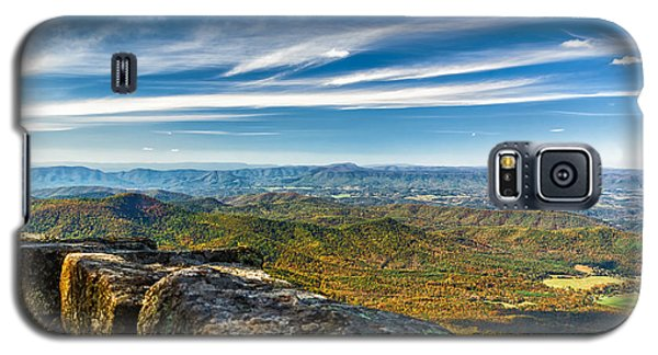 Autumn Colors In The Blue Ridge Mountains Galaxy S5 Case