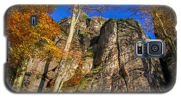 Autumn Colors In The Saxon Switzerland Galaxy S5 Case