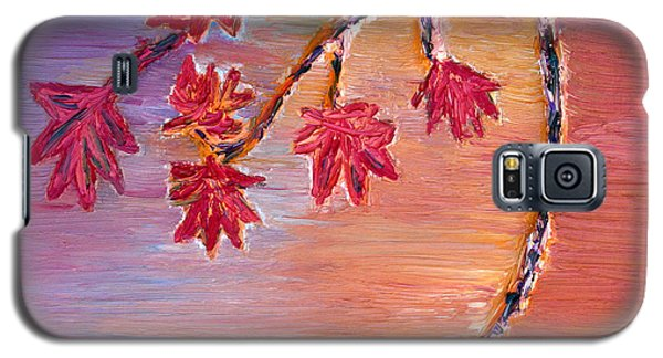 Galaxy S5 Case featuring the painting Autumn Colors by Vadim Levin