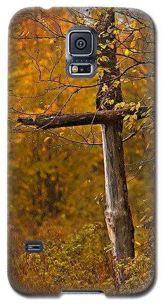 Autumn Cross Galaxy S5 Case