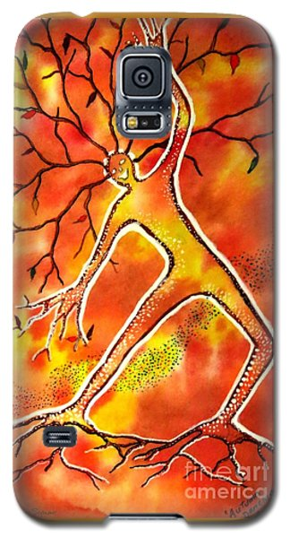 Autumn Dancing Galaxy S5 Case