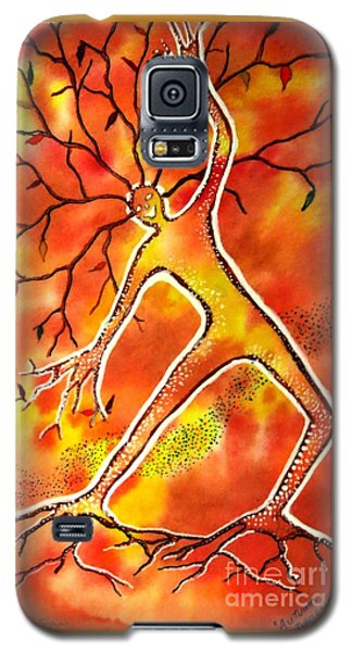 Autumn Dancing Galaxy S5 Case by Leanne Seymour