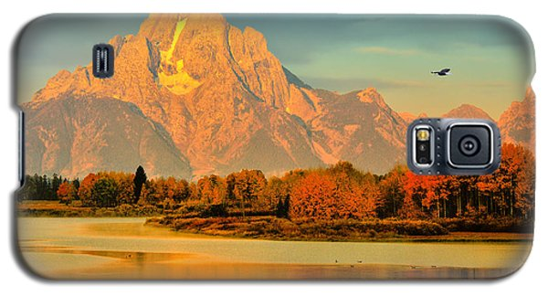 Autumn Dawn At Oxbow Bend Galaxy S5 Case