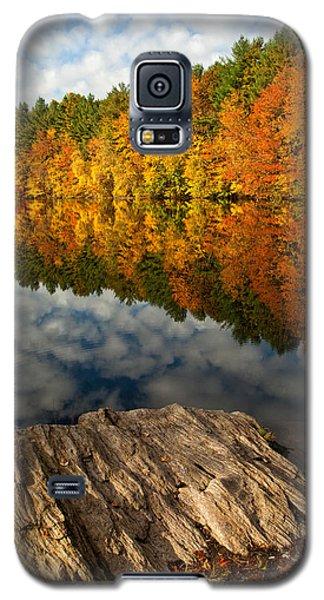 Autumn Day Galaxy S5 Case by Karol Livote