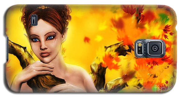 Autumn Elf Princess Galaxy S5 Case