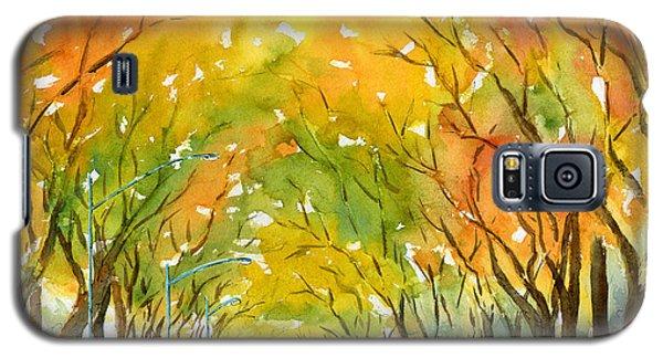 Autumn Elms Galaxy S5 Case by Pat Katz
