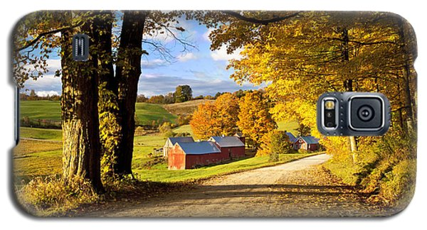 Autumn Farm In Vermont Galaxy S5 Case